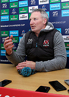 Monday 2nd December 2019   Ulster Rugby Match Briefing<br /> <br /> Ulster Rugby Skills Coach Dan Soper at the Match Briefing held at Kingspan Stadium, Belfast ahead of the Heineken Champions Cup Round 3 clash against Harlequins at Kingspan Stadium, Belfast, on Saturday 6th December 2019. Photo by John Dickson / DICKSONDIGITAL