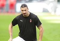 Milano 03-04-2021<br /> Stadio Giuseppe Meazza<br /> Serie A  Tim 2020/21<br /> Milan - Sampdoria<br /> Nella foto:  Zlatan Ibraimovic                                    <br /> Antonio Saia Kines Milano