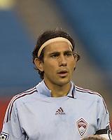 Colorado Rapids midfielder Pablo Mastroeni (25). The New England Revolution tied the Colorado Rapids, 1-1, at Gillette Stadium on May 16, 2009.