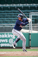 Minnesota Twins Travis Blankenhorn (61) during an Instructional League game against the Boston Red Sox on September 23, 2016 at JetBlue Park at Fenway South in Fort Myers, Florida.  (Mike Janes/Four Seam Images)