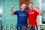 Leonardo Gazha, Sundays Well in Tralee, who has been signed by Sheffield United FC pictured with his dad Lulzim.