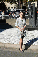 Zhang Ziyi - Show MIU MIU - Paris Fashion Week Womenswear Spring/Summer 2017 - 5 octobre 2016 - FRANCE