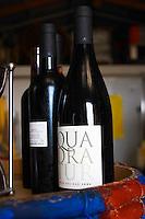 Cuvee Quadratur. Domaine Coume del Mas. Banyuls-sur-Mer. Roussillon. France. Europe. Bottle.