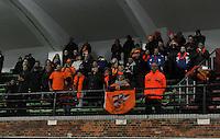 Netherlands U17 - Belgium U17 : Het Nederlandse publiek.foto Joke Vuylsteke / Vrouwenteam.be