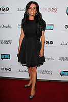 LOS ANGELES, CA, USA - NOVEMBER 18: Jenni Pulos arrives at the Los Angeles Premiere Of Bravo's 'Girlfriends' Guide to Divorce' held at the Ace Hotel on November 18, 2014 in Los Angeles, California, United States. (Photo by Celebrity Monitor)