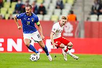 11.10.2020 Danzica Nations League Gruppo A Polonia Italia  GAME POLAND - ITALY  NZ KAMIL JOZWIAK FOTO LUKASZ GROCHALA/CYFRASPORT / NEWSPIX.PL --- Newspix.pl PUBLICATIONxNOTxINxPOL 20201011CSLG0034 <br /> ITALY ONLY