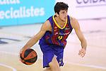 League ACB-ENDESA 2020/2021.Game 15.<br /> FC Barcelona vs Club Joventut Badalona: 88-74.<br /> Leandro Bolmaro.