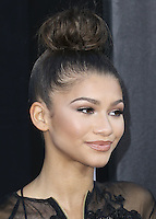 HOLLYWOOD, LOS ANGELES, CA, USA - OCTOBER 06: Zendaya arrives at the World Premiere Of Disney's 'Alexander And The Terrible, Horrible, No Good, Very Bad Day' held at the El Capitan Theatre on October 6, 2014 in Hollywood, Los Angeles, California, United States. (Photo by Xavier Collin/Celebrity Monitor)