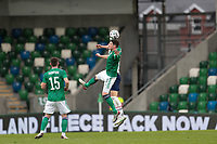 BELFAST, NORTHERN IRELAND - MARCH 28: Kyle Lafferty #10 of Northern Ireland during a game between Northern Ireland and USMNT at Windsor Park on March 28, 2021 in Belfast, Northern Ireland.