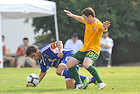 Andreas Arango (#3 minn), Mike Amberlsey #15...AC St Louis and NSC Minnesota Stars played to a 2-2 tie at Anheuser-Busch Soccer Park, Fenton, Missouri.