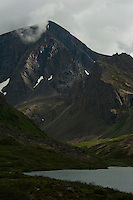 Chugach Mountains above Symphony Lake, Alaska.