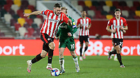 Henrik Dalsgaard of Brentford and Denmark in action during Brentford vs Sheffield Wednesday, Sky Bet EFL Championship Football at the Brentford Community Stadium on 24th February 2021