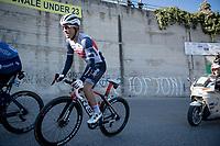 Emīls Liepiņš (LVA/Trek - Segafredo)<br /> <br /> Stage 6 from Castelraimondo to Lido di Fermo (169km)<br /> <br /> 56th Tirreno-Adriatico 2021 (2.UWT) <br /> <br /> ©kramon