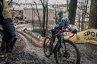 Katie Compton (USA/KFC Racing p/b Trek/Panache)<br /> <br /> Women's Race<br /> CX Vlaamse Druivencross Overijse 2017