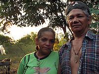 José Cláudio Ribeiro da Silva e Maria do Espirito Santos da Silva no assentamento Praia Alta Piranheiras assassinados em 24/05/2011.<br /> Nova Ipixuna; Pará; Brasil<br /> Foto Felipe Milanez<br /> 09/10/2010