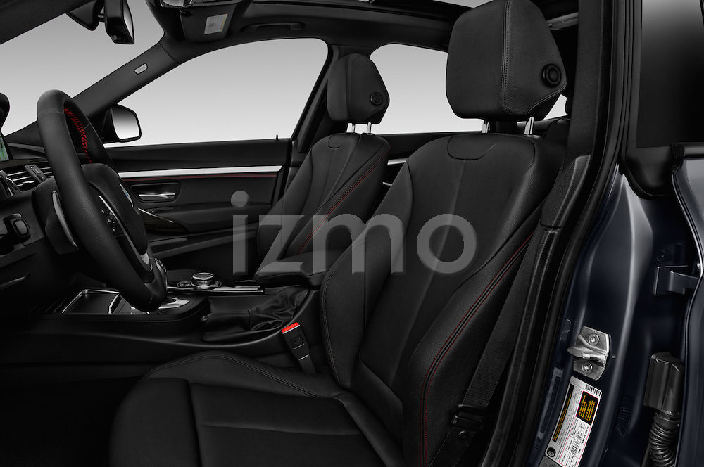 Front seat view of 2017 BMW 3-Series-GT Sport 5 Door Hatchback Front Seat  car photos