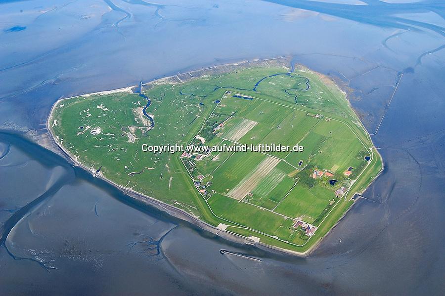 4415/Neuwerk: EUROPA, DEUTSCHLAND, HAMBURG, NEUWERK 18.05.2004:Insel Neuwerk, Luftbild, Luftansicht