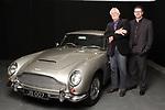 George Lazenby & Aston Martin DB5