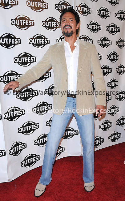 Benjamin Bratt at The 2009 Outfest Opening Night Gala of LA MISSION held at The Orpheum Theatre in Los Angeles, California on July 09,2009                                                                   Copyright 2009 Debbie VanStory / RockinExposures