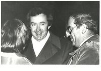 Joe Clark, le 2 mars 1979<br /> <br /> <br /> PHOTO :  John Raudsepp - Agence Quebec presse