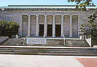 Toledo: The Toledo Museum of Art. East Wing added in 1933--contains a theater.  Peristyle is the concert hall. Designed by Edward B. Green and Harry W. Wachter.  Photo '97.