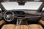 Straight dashboard view of a 2021 Cadillac Escalade ESV Sport 5 Door SUV