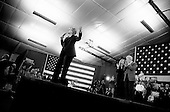 Manchester, New Hampshire.January 7, 2008 ..Democratic presidential hopeful and New York Senator Hillary Clinton campaigns with her husband Bill Clinton and daughter Chelsea at one day before the primary...