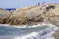 - Isola D'Elba, la costa nei pressi di Marciana Marina....- Elba Island, the coast near Marciana Marina