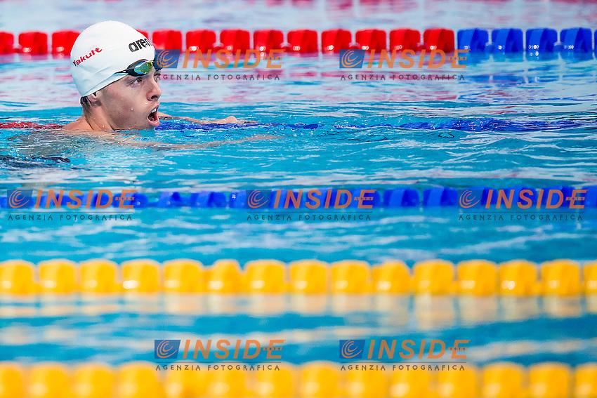 JAEGER Connor USA<br /> 400 Freestyle Men Heats<br /> Swimming - Kazan Arena<br /> Day10 02/08/2015<br /> XVI FINA World Championships Aquatics Swimming<br /> Kazan Tatarstan RUS July 24 - Aug. 9 2015 <br /> Photo A.Masini/Deepbluemedia/Insidefoto