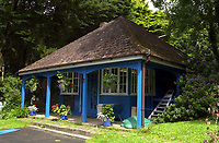 Pictured: An out building on Caldey Island. STOCK PICTURE<br /> Re: Dyfed-Powys Police has received reports of historical sexual abuse perpetrated by a monk on Caldey Island in the 1970s and 1980s.<br /> The force investigated in 2014 and 2016 but could not prosecute as the monk, Father Thaddeus Kotik, died in 1992.<br /> The Guardian newspaper has reported that Caldey Abbey has paid compensation to six women who were abused as children.
