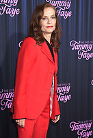 September 14, 2021.Isabelle Huppert attend Searchlight Pictures premiere of The Eyes of Tammy Faye  at<br /> SVA Theatre in New York September 14, 2021 Credit:RW/MediaPunch