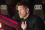 Coach Diego Simeone of Atletico de Madrid prior to the La Liga match between Real Madrid and Atletico de Madrid at the Santiago Bernabeu Stadium on 08 April 2017 in Madrid, Spain. Photo by Diego Gonzalez Souto / Power Sport Images