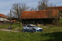 25th April 2021; Zagreb, Croatia; WRC Rally of Croatia, Final stages; Teemu Suninen - Ford Fiesta MkII WRC2
