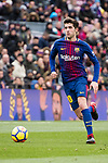 Sergi Roberto of FC Barcelona in action during the La Liga 2017-18 match between FC Barcelona and RC Celta de Vigo at Camp Nou Stadium on 02 December 2017 in Barcelona, Spain. Photo by Vicens Gimenez / Power Sport Images