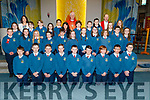 Miss Galvin's Scoil Eoin Balloonagh 6th class receive their Confirmation from Bishop Ray Browne in St Brendans Church on Thursday with Miss Linda Galvin and Fr Padraig Walsh.
