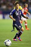 Kumi Yokoyama (JPN), .AUGUST 26, 2012 - Football / Soccer : .FIFA U-20 Women's World Cup Japan 2012, Group A .match between Japan 4-0 Switzerland .at National Stadium, Tokyo, Japan. .(Photo by Daiju Kitamura/AFLO SPORT)