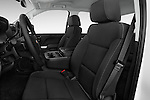 Front seat view of2015 Chevrolet Silverado 2500 HD Work Truck Double Cab LWB 4 Door  Front Seat car photos