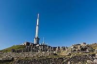 Europe/France/Auverne/63/Puy-de-Dôme/Parc Naturel Régional des Volcans: Sommet du Puy de Dome  et  Temple de Mercure - Laboratoire et antenne