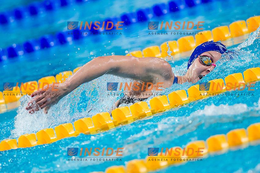 CARLIN Jaz GBR<br /> 400 Freestyle Women Heats<br /> Swimming - Kazan Arena<br /> Day10 02/08/2015<br /> XVI FINA World Championships Aquatics Swimming<br /> Kazan Tatarstan RUS July 24 - Aug. 9 2015 <br /> Photo A.Masini/Deepbluemedia/Insidefoto