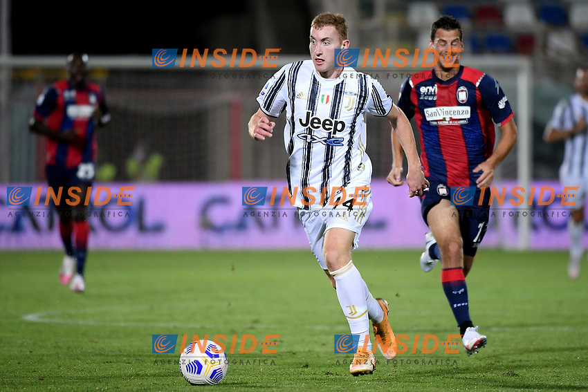 Dejan Kulusevski of Juventus FC in action during the Serie A football match between FC Crotone and Juventus FC at stadio Ezio Scida in Crotone (Italy), October 17th, 2020. Photo Federico Tardito / Insidefoto