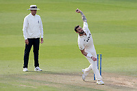 Reece Topley in bowling action for Surrey during Surrey CCC vs Essex CCC, LV Insurance County Championship Division 2 Cricket at the Kia Oval on 12th September 2021