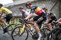 Belgian National Champion Wout van Aert (BEL/Jumbo-Visma) up the Col de Portet-d'Aspet<br /> <br /> Stage 16 from El Pas de la Casa to Saint-Gaudens (169km)<br /> 108th Tour de France 2021 (2.UWT)<br /> <br /> ©kramon