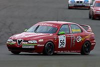 Rounds 4 of the 2002 British Touring Car Championship #56 Alan Blencowe (GBR). Gary Ayles Motorsport. Alfa Romeo 156.
