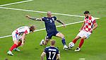 23.06.2021 Croatia v Scotland follow ups: Lyndon Dykes with Domagoj Vida and Josko Gvardiol