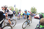 Riders including Luis Leon Sanchez (ESP) Astana Pro Team climb the Superga for the 1st ascent during the 99th edition of Milan-Turin 2018, running 200km from Magenta Milan to Superga Basilica Turin, Italy. 10th October 2018.<br /> Picture: Eoin Clarke | Cyclefile<br /> <br /> <br /> All photos usage must carry mandatory copyright credit (© Cyclefile | Eoin Clarke)