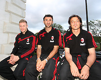 Ignazio Abate, Kakha Kaladze and Masimo Oddo of AC mILAN at a reception for AC Milan at DAR Constitution Hall in Washington DC on May 24 2010.