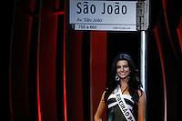 SAO PAULO, SP. 16.05.2015 - MISS-SÃO PAULO - A Miss Ribeirão Preto, Jessica Vilela, eleita a Miss São Paulo 2015 durante a 61º edição do concurso Miss São Paulo, na noite deste sábado (16), no Anhembi, na zona norte da capital paulista.  (Foto: Adriana Spaca/Brazil Photo Press)