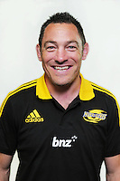 Mark Hammett. Hurricanes Super 15 official headshots at Rugby League Park, Wellington, New Zealand on Sunday, 9 December 2012. Photo: Dave Lintott / lintottphoto.co.nz