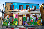 Beautiful Painted House, Valparaiso