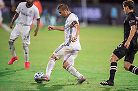 LAKE BUENA VISTA, FL - JULY 14: Alejandro Bedoya #11 of the Philadelphia Union dribbles the ball during a game between Inter Miami CF and Philadelphia Union at Wide World of Sports on July 14, 2020 in Lake Buena Vista, Florida.